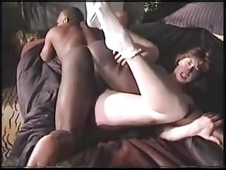 Ghetto hubby lets the black guy fuck his wife