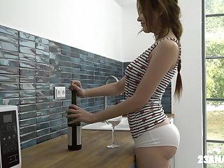Ass Licking Gisha Forza lets her man fuck her ass