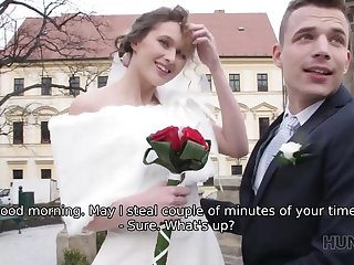Serbian HUNT4K. Have you every fucked someone's bride at the...