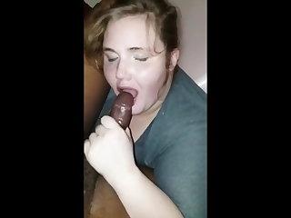 Swedish horny 18yo bbs sucks her first bbc