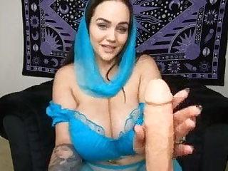Cosplay rub my  pussy joi