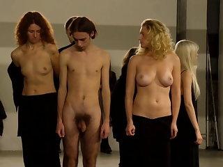 Strip-tease public