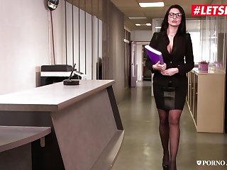 Polish LETSDOEIT - Bad Teacher Goes Wild In MMF Hardcore Threesome