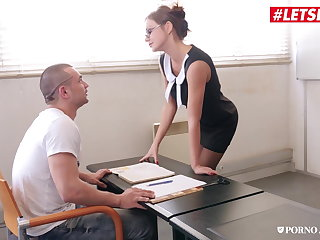 LETSDOEIT - British Teacher Knows How To Play With Big Cocks