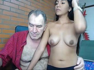 Dad grandpa romul before cam girl defloration