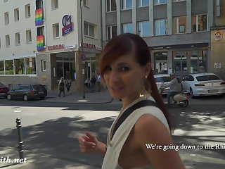 Public ass flashing by Jeny Smith in Cologne Jeny Smith