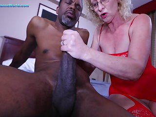 German Cathy Creampie Vs BBC