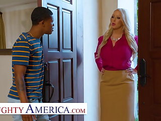 American Naughty America - MILF fucks sons bully