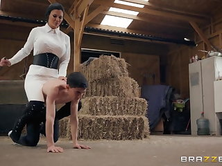 Mistress Horsing Around With The Stable Boy Full Video:- Heavy-R.CF