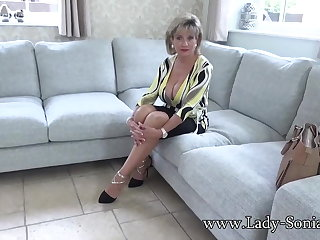 JOI Naughty JOI from stunning mature Lady Sonia