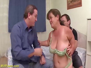 Hungarian rough mature midget fuck ory