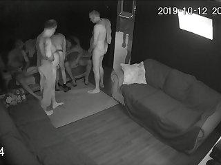 Vintage Hidden camera, gay, bi club