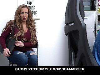 ShopLyfterMYLF - Sexy Milf's Big Tits Get Covered In Cum