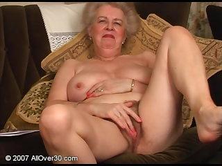 Korean Big Busty Granny