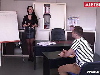 Polish LETSDOEIT - Anal Loving Teacher Ania Kinski Bangs At School