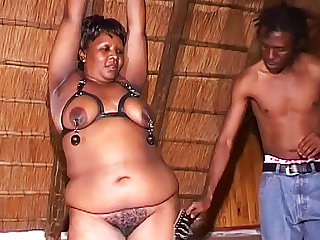 Nigerian african moms first fetish lesson