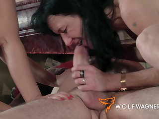 Dogging Ugly mature swingers have a fuck fest! Wolfwagner.com
