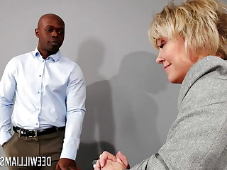 Pick Up Milf Dee Williams with monster cock