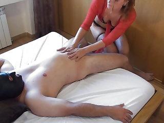 Mistress Mistress gives handjob