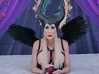 Halloween MYLF - Fucking A Maleficent Mommy with Big Tits