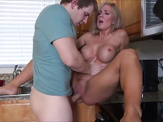 Pantyhose Mother & Stepson's Fresh Start - pt 1 of 3 - Family Therapy