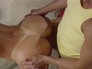 Remastered, Phenomenal Nina Hartley's ass fucked by Peter North Nina Hartley