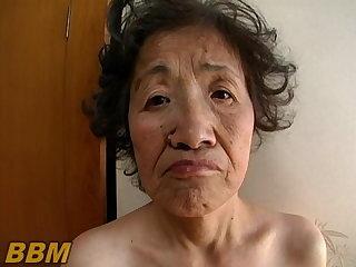 Japanese Old Japanese granny 1